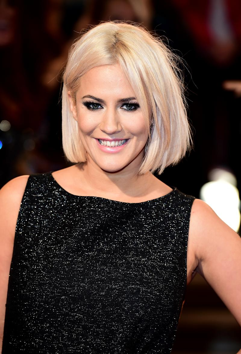 File photo dated 19/11/2015 of Caroline Flack attending the ITV Gala at the London Palladium. The inquest into the death of the tragic television presenter is due to resume today.