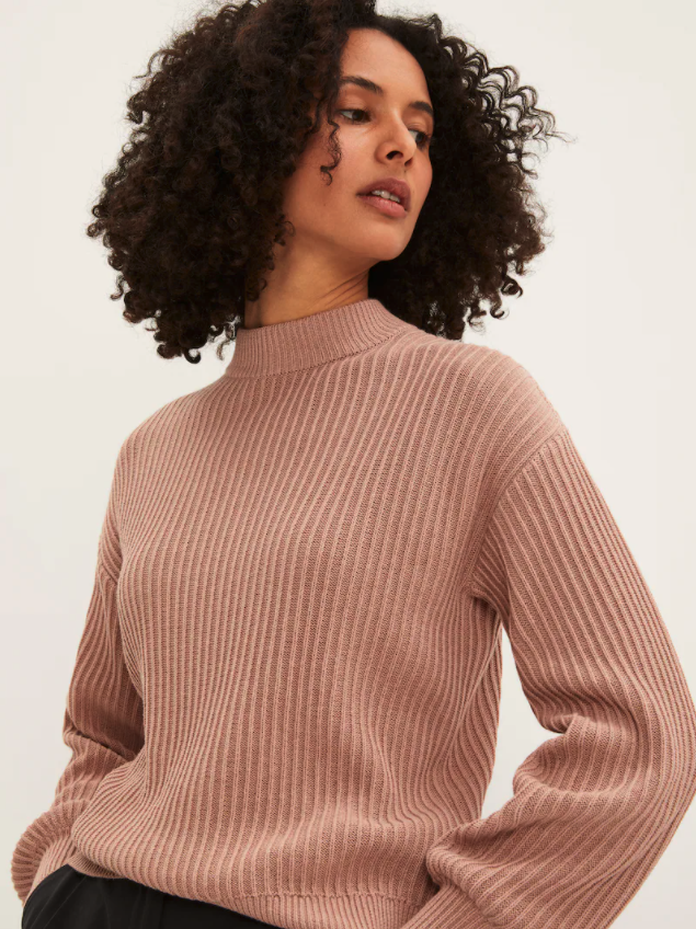 SeaCell and Cotton Boxy Sweater. Image via Frank and Oak.