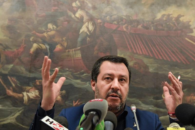 "Italy's Interior Minister Matteo Salvini reiterated Italy's ports were ""closed"" to new migrant arrivals"