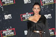 """<p>JWoww is just as much of a financial powerhouse as her BFF Snooki, with an estimated net worth of $4 million, according to<em> <a href=""""https://www.celebritynetworth.com/richest-celebrities/jwoww-net-worth/"""" rel=""""nofollow noopener"""" target=""""_blank"""" data-ylk=""""slk:Celebrity Net Worth"""" class=""""link rapid-noclick-resp"""">Celebrity Net Worth</a>. </em></p><p><em><a href=""""https://radaronline.com/exclusives/2012/06/jersey-shore-stars-earnings-how-much-do-they-make/"""" rel=""""nofollow noopener"""" target=""""_blank"""" data-ylk=""""slk:Radar Online"""" class=""""link rapid-noclick-resp"""">Radar Online</a></em> reports that JWoww was making around $100,000 per episode by the end of <em>Jersey Shore </em>and went on to star in <em>Snooki & JWoww</em>, <em>Marriage Boot Camp: Reality Stars,</em> <em>Y</em><em>oung Americans, </em>and <em>Jersey Shore: Family Vacation</em>, which is still on. She also ~influences~ for brands like Fashion Nova. </p>"""