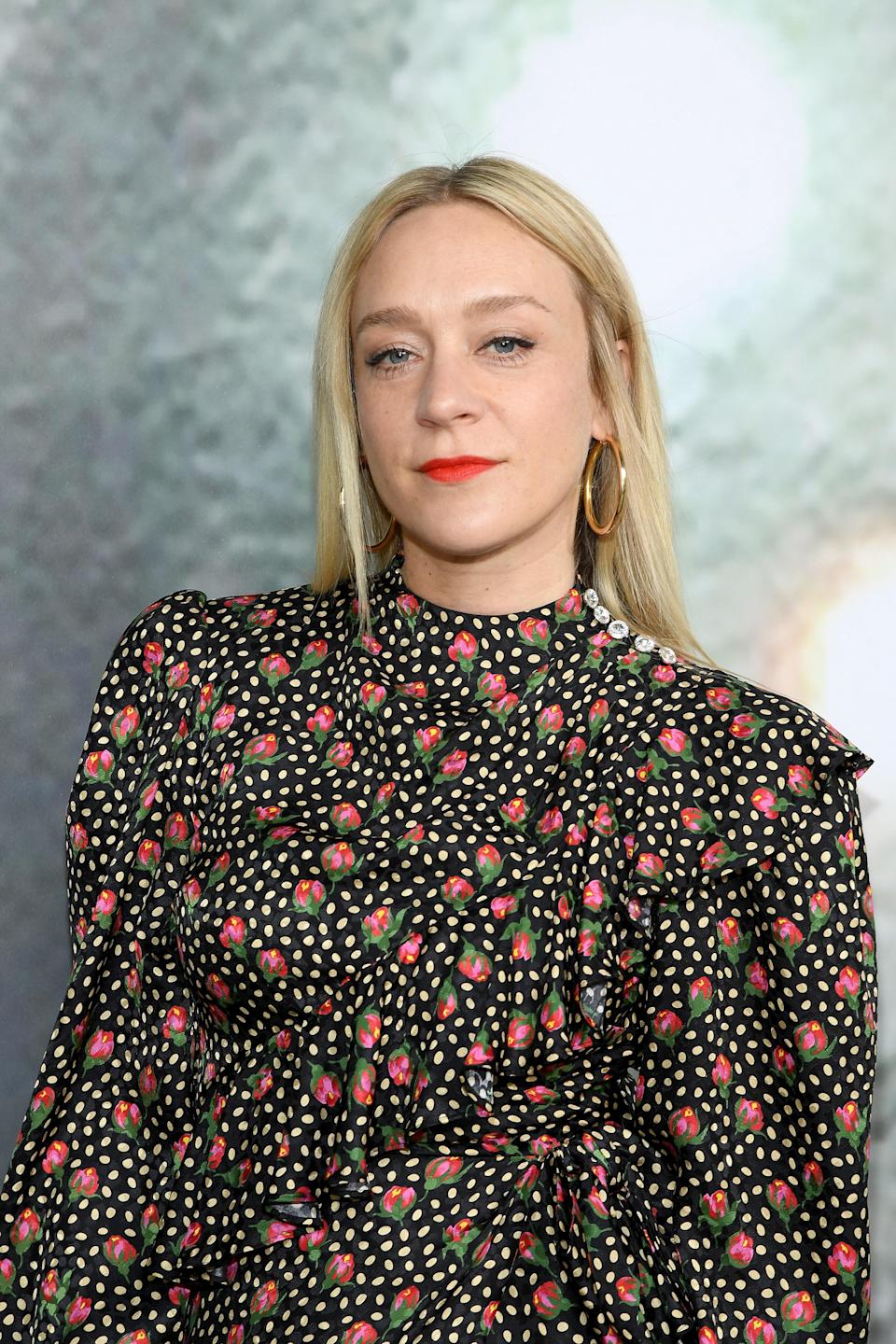 """Brown calls Chloë Sevigny's soft blonde """"a very pale, creamy blond that reflects the moonlight."""" It's not quite as icy as platinum but is still very light and bright. Brown says to ask for a base with neutral to cool tones with almost white highlights to brighten it up."""