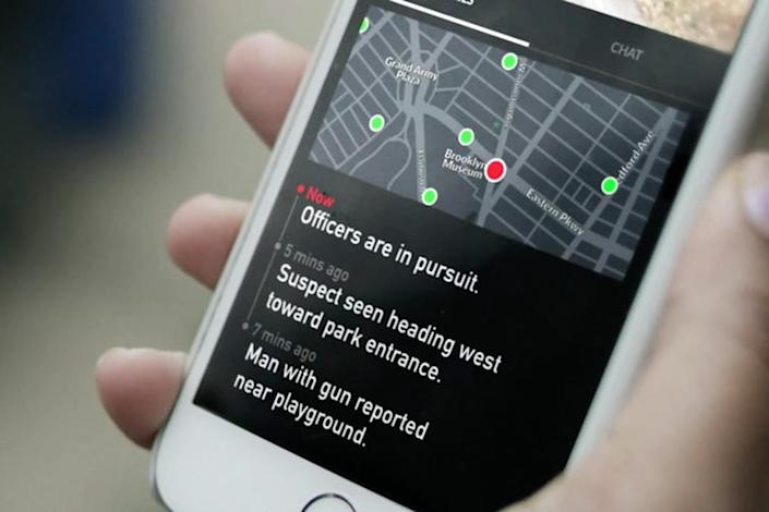 Citizen, a smartphone app, is designed to alert you when crimes, emergencies and other dangerous events occur in your area. (Citizen)