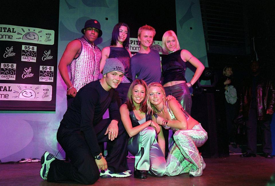 """<p>S Club 7 was a manufactured pop group in the vein of many others circa 1999 to 2003, but each member was so compelling—especially on the fictionalized show about the group, in which they all played themselves—that they're better remembered than the others. S Club 7 had a hit with """"Bring It All Back,"""" and went on a 2015 reunion tour that was fittingly named after the track.</p>"""