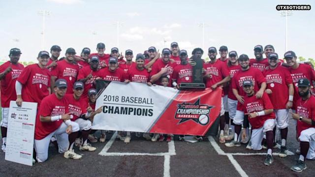 Texas Southern's baseball team is the king of baseball in the Southwestern Athletic Conference.
