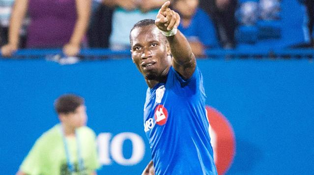 Didier Drogba is not done with playing just yet, and he might not be done with MLS, either, if things go the way of Phoenix Rising FC.