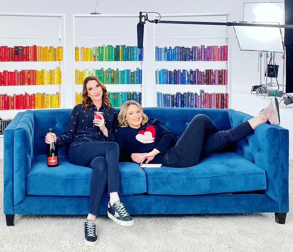 Clea Shearer and Joanna Teplin of The Home Edit. Photo: Instagram/thehomeedit.