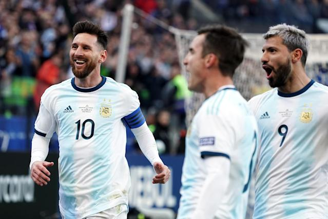 Lionel Messi has not held back in criticizing the Copa America organizers and referees in recent days. (Getty)