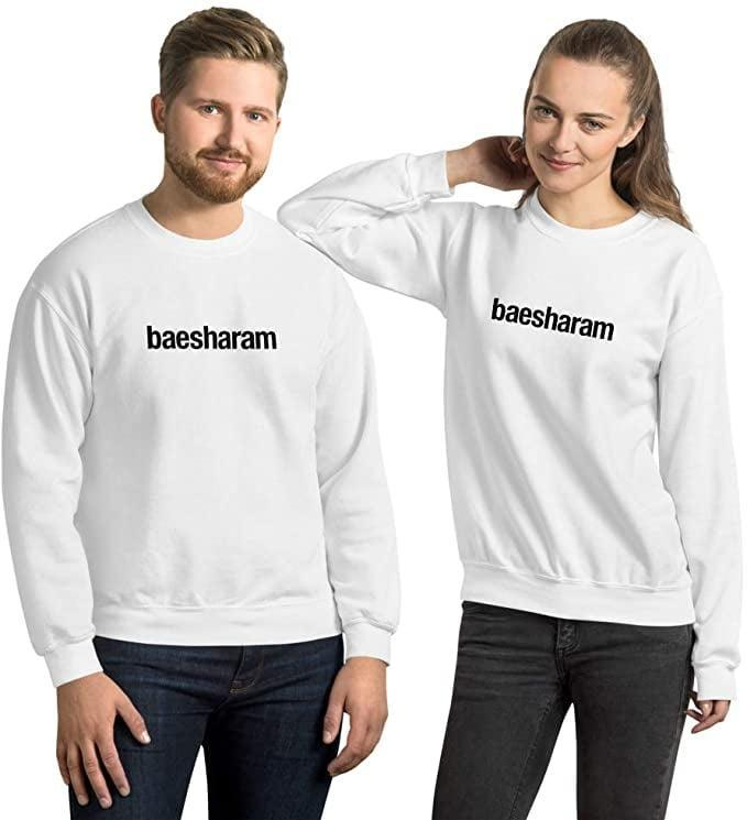 <p>Have no sharam with the <span>BaeSharam Sweatshirt</span> ($25) from the cast of Family Karma.</p>