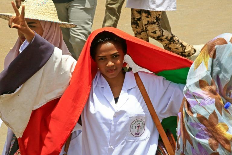 Women have played a leading role in the months of protests that led to the end of Bashir's 30-year rule