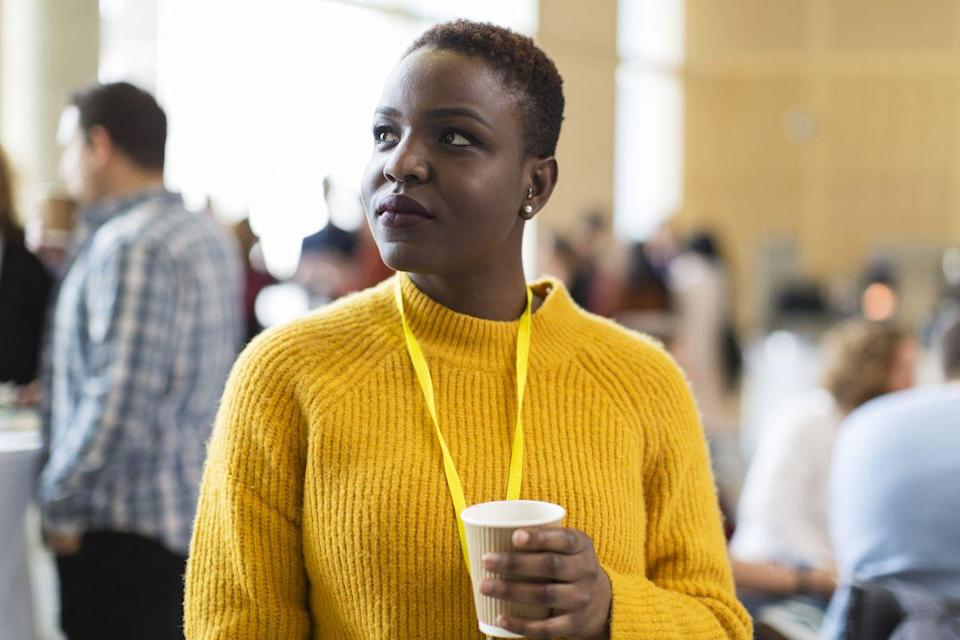 <p>No, the name of your co-worker's boyfriend's former college roommate probably doesn't sound familiar, but but it still feels good to seem so well-connected.</p>