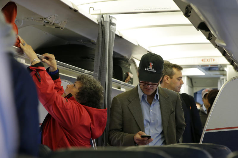 If gov't backs in-flight calls, will the airlines?