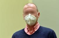 German sports doctor Mark S., accused of masterminding an international doping network in cycling and winter sports, waits for the verdict in his trial at the Regional Court (Landgericht) in Munich