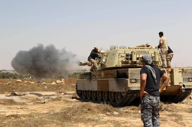 Forces loyal to Libya's unity government launched an offensive to recapture Sirte from Islamic State jihadists in May 2016