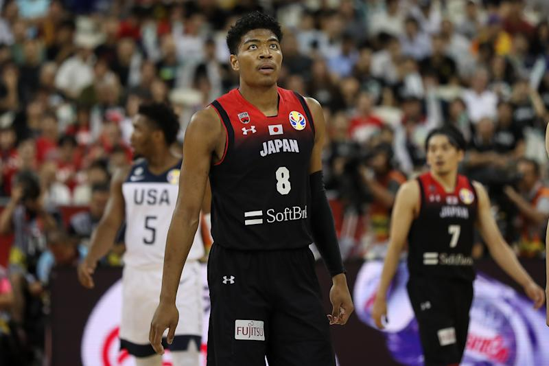 """Due to """"knee discomfort and general fatigue,"""" Washington Wizards rookie Rui Hachimura's time with Japan at the FIBA World Cup is getting cut short."""