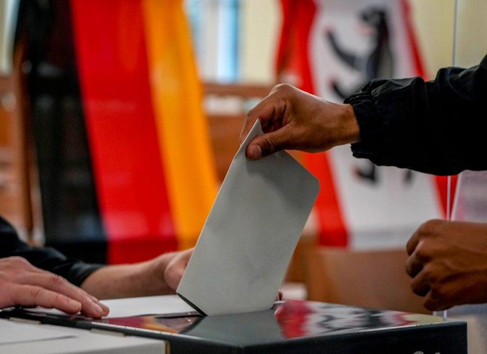 Germany Election (Copyright 2021 The Associated Press. All rights reserved)