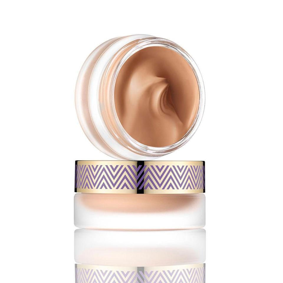 """<p>This cushiony, full-coverage foundation is packed with hyaluronic acid, a molecule that can hold up to 1,000 times its weight in water. Translation: It retains a <em>ton </em><span>of moisture, exactly what your dry skin needs. </span>($39; <a rel=""""nofollow noopener"""" href=""""http://www.ulta.com/double-duty-beauty-empowered-hybrid-gel-foundation?productId=xlsImpprod13762559"""" target=""""_blank"""" data-ylk=""""slk:ulta.com"""" class=""""link rapid-noclick-resp"""">ulta.com</a>)</p>"""