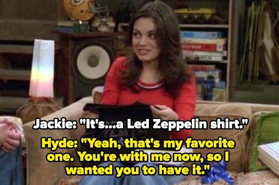 """Hyde: """"You're with me now so I wanted you to have it"""""""
