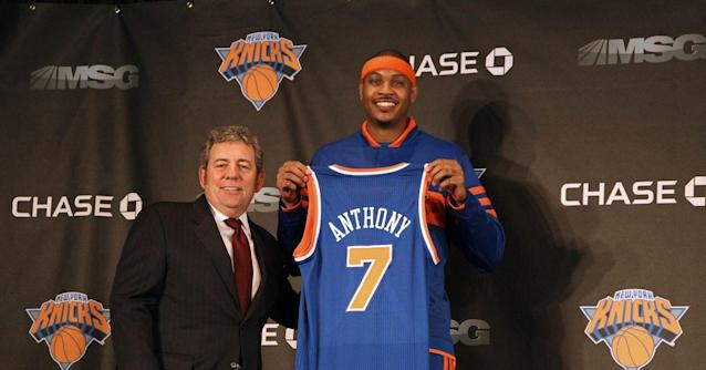 In-depth Carmelo Anthony feature confirms Melo didn't want to play power forward for the Knicks