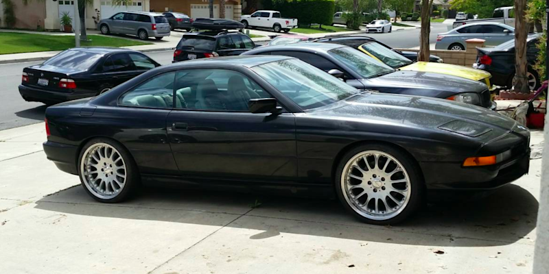 Cheap Manual V12 Powered Bmw 8 Series For Sale