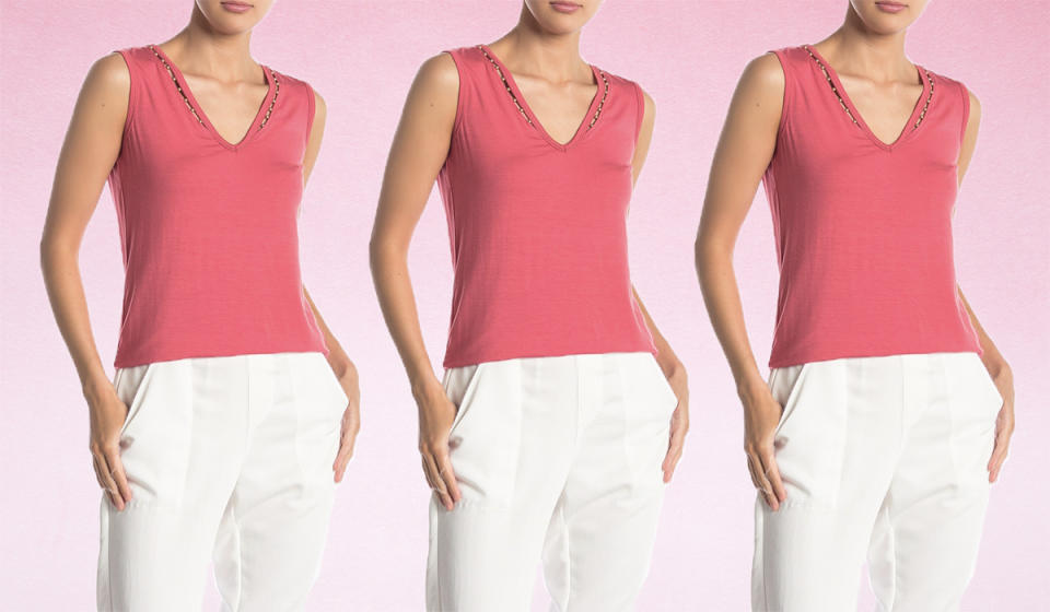 Score a ridiculous 81 percent off this sleeveless top. (Photo: Nordstrom Rack)