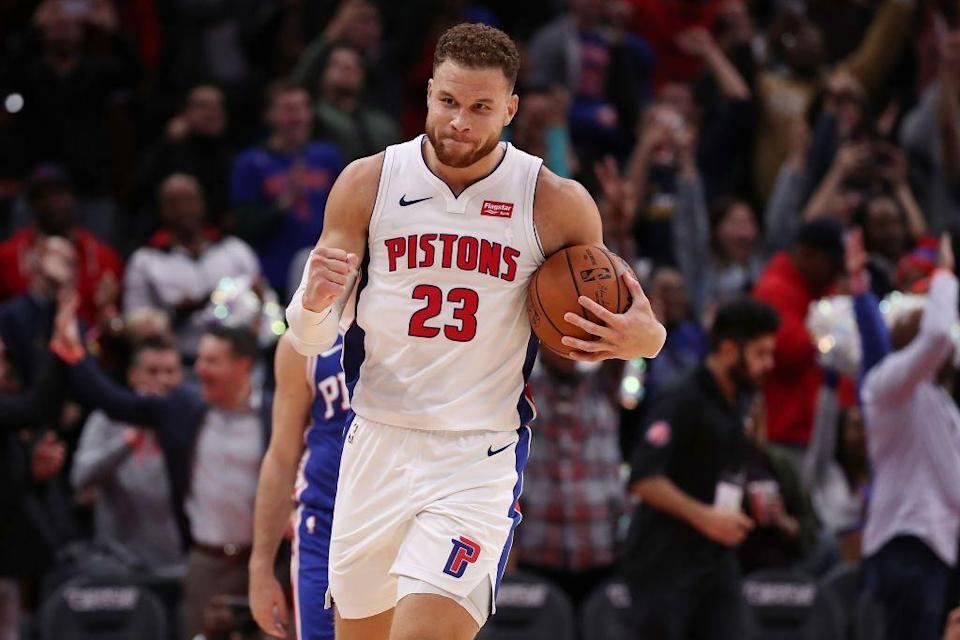 <p>Across the pond, the basketball season has also been suspended due to Coronavirus, leading several NBA players to donate to the security personnel, stewards, catering staff and cleaners who work in the arenas during the season and therefore could miss out on income amid the closure.</p><p>Blake Griffin (pictured) donated $100,000 to help workers at his Detroit arena, Zion Williamson did the same pledging to 'cover the salaries' for his New Orleans colleagues. The Golden State Warriors players and management also confirmed they would be donating $1 million to support the workers who are affected.</p>