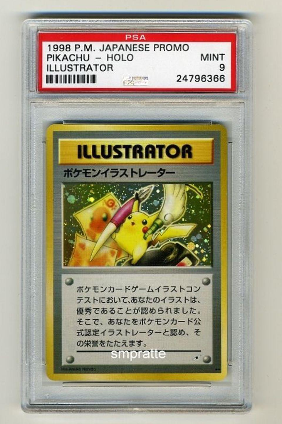 """<p>First published in Japan in 1996, Pokemon trading cards have a huge following and rare cards can go for wildly high prices. <a href=""""https://go.redirectingat.com?id=74968X1596630&url=http%3A%2F%2Fwww.ebay.com%2Fitm%2FPOKEMON-1998-PIKACHU-ILLUSTRATOR-PROMO-GRADED-PSA-9-MINT-MOST-VALUABLE-CARD-%2F182029833958%3Fhash%3Ditem2a61d2d6e6%253Ag%253A0QEAAOSwG-1Wx5O9&sref=https%3A%2F%2Fwww.countryliving.com%2Fshopping%2Fantiques%2Fg3141%2Fmost-valuable-toys-from-childhood%2F"""" rel=""""nofollow noopener"""" target=""""_blank"""" data-ylk=""""slk:This mint-condition Pikachu card"""" class=""""link rapid-noclick-resp"""">This mint-condition Pikachu card</a> is on sale for $100,000, and <a href=""""http://www.ebay.tv/sch/Trading-Cards-/868/i.html?_from=R40&_nkw=pokemon+cards&_sop=16"""" rel=""""nofollow noopener"""" target=""""_blank"""" data-ylk=""""slk:other cards"""" class=""""link rapid-noclick-resp"""">other cards</a> can fetch similarly expensive sums. </p>"""