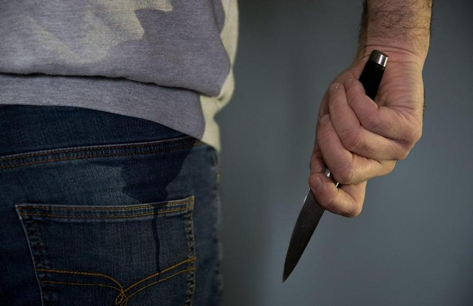 A total of 427 knives were also seized over the summer, as well as 226 other weapons (PA Archive)