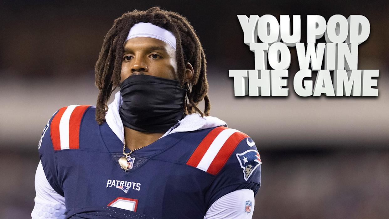 New England Patriots QB Cam Newton is sidelined until Thursday after a