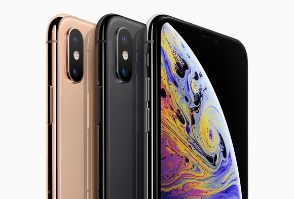 iPhone XS Max lineup