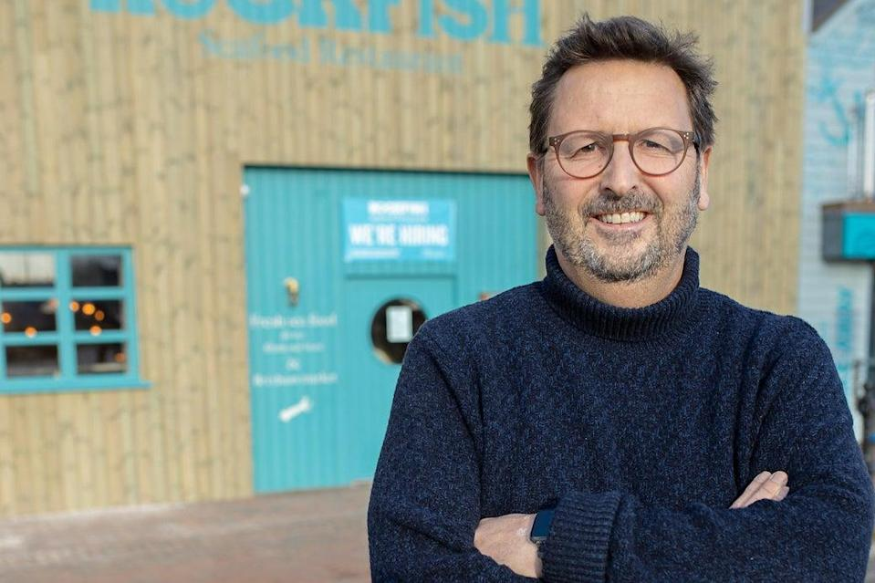 Leading the call: Mitch Tonks is an ambassador for the Marine Stewardship Council (MSC) (rockfish.co.uk)