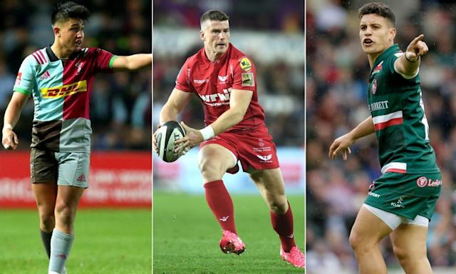 """<span class=""""element-image__caption"""">Marcus Smith was one of the few fly-halves to shine, Scarlets are set to make an impact in Europe while Matt Toomua is improving quickly.</span> <span class=""""element-image__credit"""">Composite: Rex/Rex/Getty</span>"""