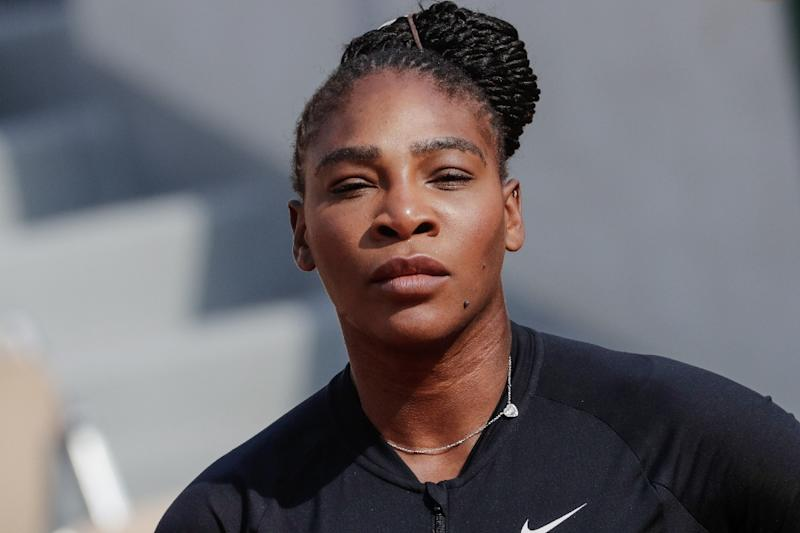 An Unseeded Serena Williams Looms in the French Open Draw