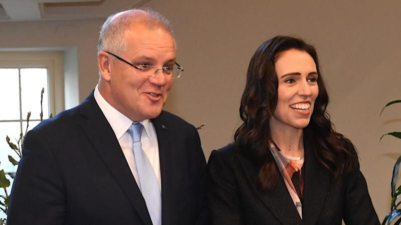 Jacinda Ardern has restated an offer to resettle refugees in Australian offshore detention centres