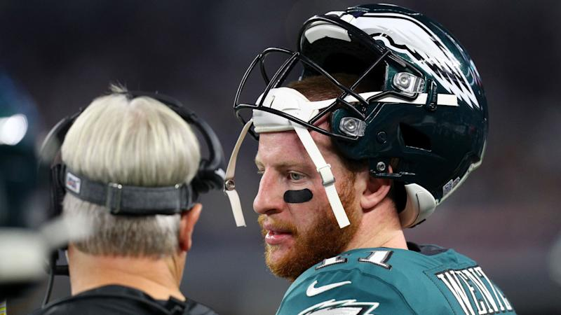 Carson Wentz 'embarrassed' by Eagles' performance in Cowboys defeat