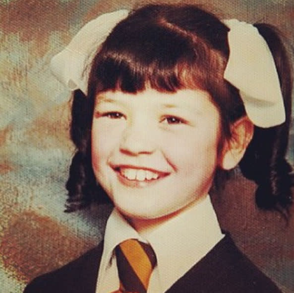 """<p>Actress Catherine Zeta-Jones as a school girl in Wales: """"Growing up, I knew I wanted to be on stage. My dream came true at nine, when I was cast in the lead role in Annie. #ThrowbackThursday"""" -<a href=""""https://www.instagram.com/p/6nIM1mA6mf/"""" rel=""""nofollow noopener"""" target=""""_blank"""" data-ylk=""""slk:@catherinezetajones"""" class=""""link rapid-noclick-resp"""">@catherinezetajones</a> (Instagram)</p>"""