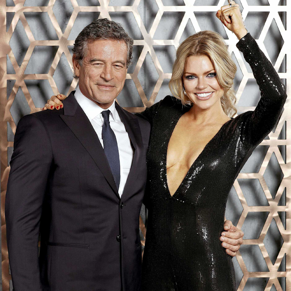 Mark Bouris and Sophie Monk.