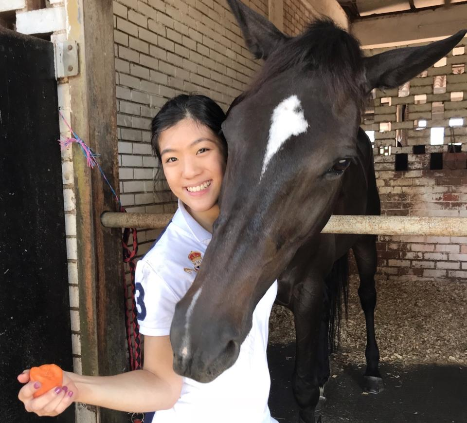 Singapore para-equestrienne Gemma Rose Foo, who will be taking part at the Tokyo Paralympics. (PHOTO: Singapore Disability Sports Council)