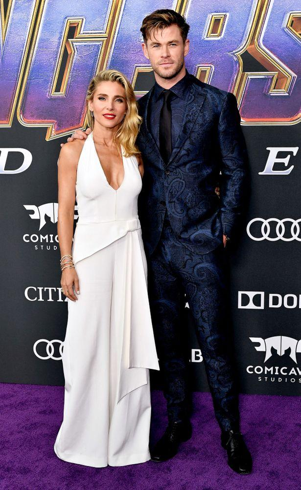 Elsa Pataky and Chris Hemsworth at the Avengers: Endgame premiere in Los Angeles   Rob Latour/Shutterstock