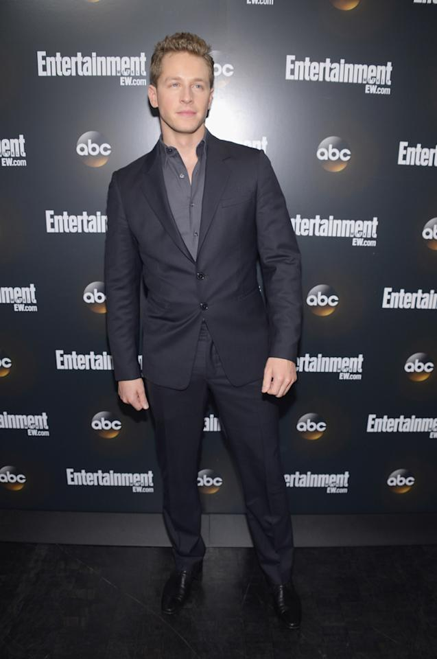 "Josh Dallas (""Once Upon a Time"") attends the Entertainment Weekly and ABC Upfront VIP Party at Dream Downtown on May 15, 2012 in New York City."