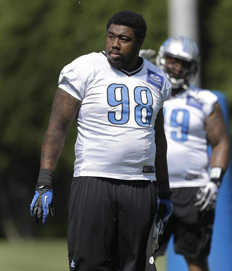 Lions DT Fairley says team did not pick up option