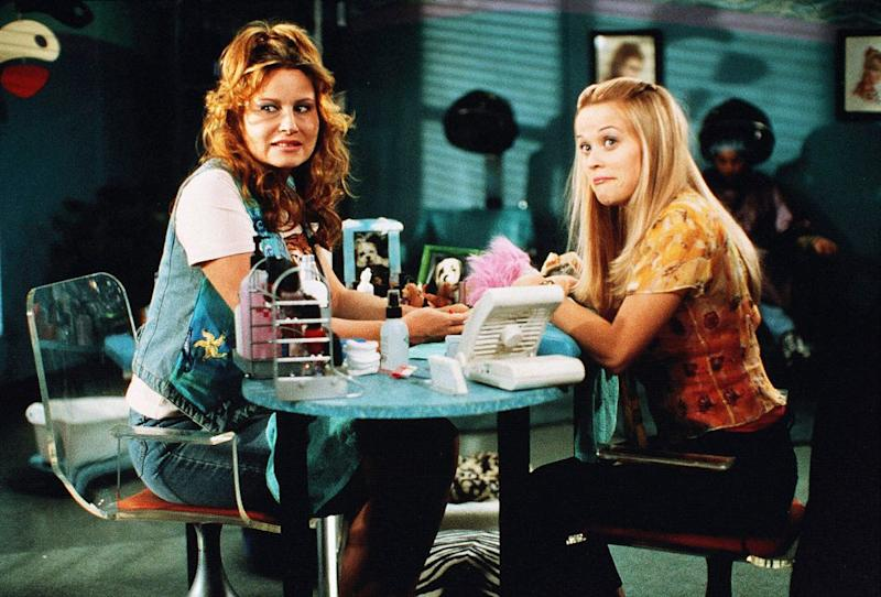 Coolidge (left) and Witherspoon in Legally Blonde