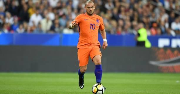 Time up: Wesley Sneijder has been dropped from the Netherlands squad for their crunch double header, a move which could bring his international career to an end