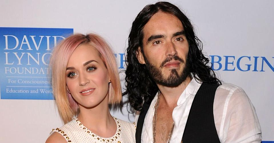 Katy Perry and Russell Brand were married for less than two years (Getty)