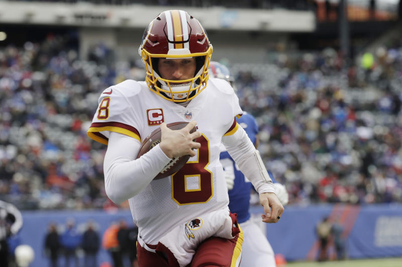 Washington Redskins quarterback Kirk Cousins will be a highly coveted free agent this year. (AP)