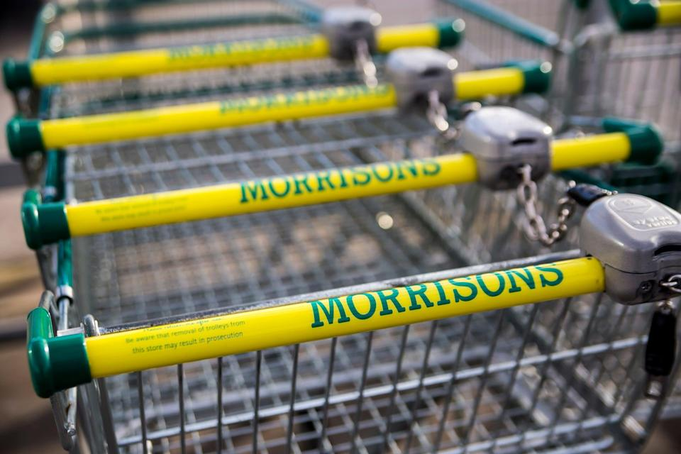 <p>Morrisons said it had seen significant growth in sales of snacks and takeaway food in recent weeks as the economy has begun to reopen</p> (Getty)