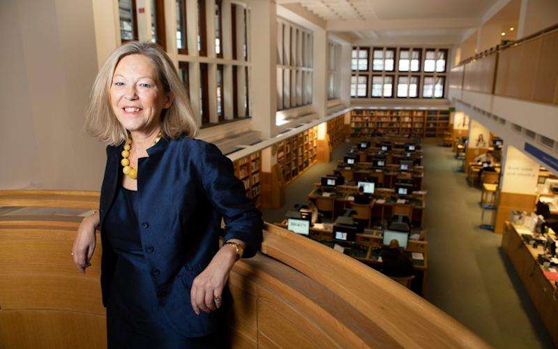 Isabel Oswell is head of Business Audience at the British library, whose Business and IP centregave face-to-face support to over 5,000 people last year - Rii Schroer