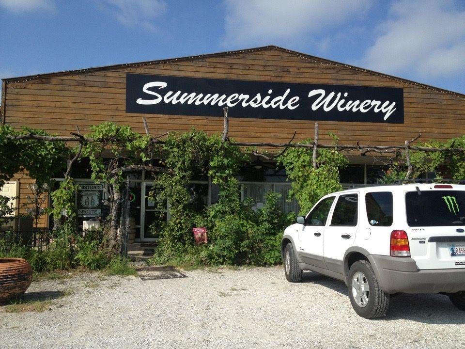 """<p><a href=""""https://foursquare.com/v/summerside-vineyards--winery/4cfea1018e3b8eecab64c293"""" rel=""""nofollow noopener"""" target=""""_blank"""" data-ylk=""""slk:Summerside Vineyards & Winery"""" class=""""link rapid-noclick-resp"""">Summerside Vineyards & Winery</a> in Vinita</p><p>""""The wine-a-rita is amazing!<span class=""""redactor-invisible-space"""">"""" - Foursquare user <a href=""""https://foursquare.com/mr_bs_2u"""" rel=""""nofollow noopener"""" target=""""_blank"""" data-ylk=""""slk:Bill Stull"""" class=""""link rapid-noclick-resp"""">Bill Stull</a></span></p>"""