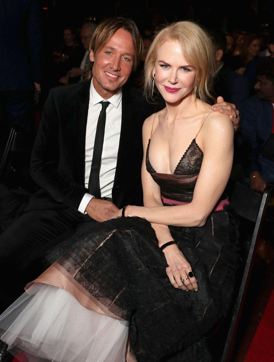 """<p>Nicole Kidman and Keith Urban <a href=""""http://people.com/celebrity/nicole-keith-say-i-do/"""" rel=""""nofollow noopener"""" target=""""_blank"""" data-ylk=""""slk:wed in June 2006"""" class=""""link rapid-noclick-resp"""">wed in June 2006</a> in a candle-lit ceremony at Sydney, Australia's Cardinal Cerretti Memorial Chapel. Kidman wore a Balenciaga gown, and guests included Naomi Watts and Hugh Jackman. </p>"""