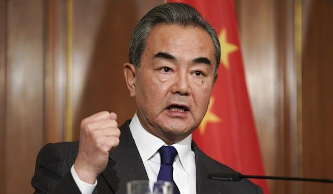 Chinese Foreign Minister Wang Yi will meet his Indian counterpart on Thursday. Photo: EPA-EFE