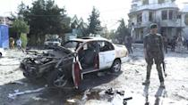 Aftermath of Kabul attack targeting defence minster, lawmakers